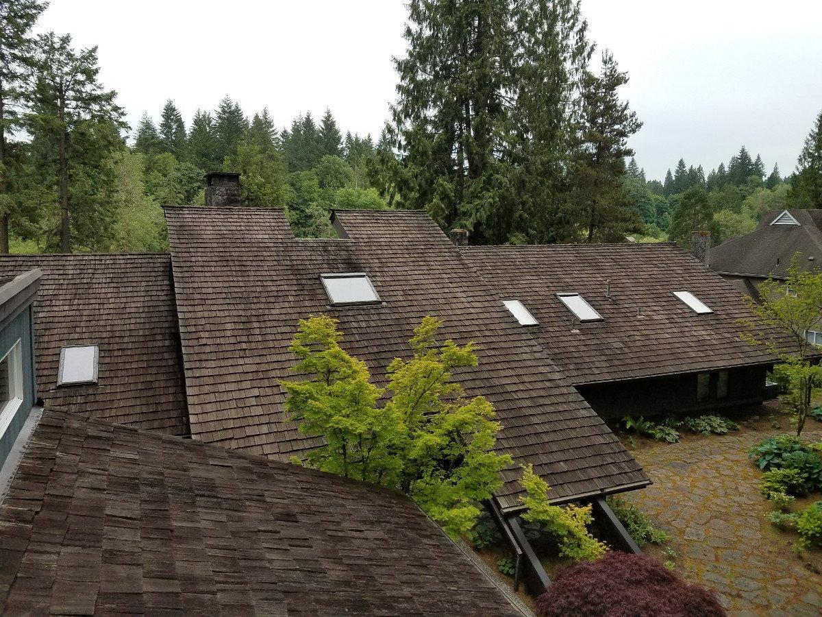 Cedar Shake Roof Maintenance Amp Repair